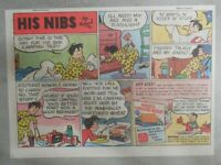 Nabisco Cereal Ad: His Nibs by Roland Coe Shredded Wheat 1940's Size: 7 x 10