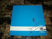 Queens Of The Stone Age Rare Signed Promo Poster Rated R Josh Homme Mark Lanegan