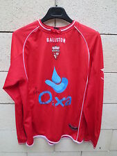 Maillot porté n°7 EXCELSIOR MOUSCRON Baliston match worn shirt dédicacé
