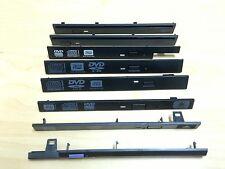 Slot load 12.7mm 9.5mm laptop DVD drive bezel faceplate