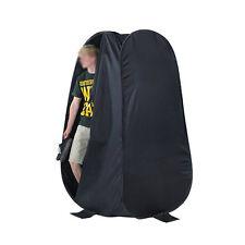 190cm Pop Up Outdoor Portable Toilet Shower Beach Change Tent Dress Room Black