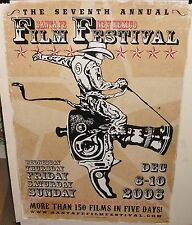 """NEW MEXICO 2006 FILM FESTIVAL HUGE 24"""" X 36"""" COLOR POSTER"""