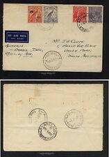 Australia / New Guinea franking flight cover 1938 Ss0428