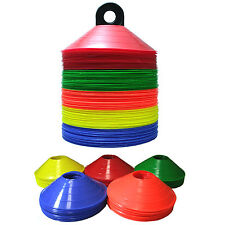 Disc Cones 50 pcs + a free holder/carrier for sport training soccer football etc