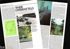 vintage Nurburgring Circuit Racing History Article / Photo's / Pictures