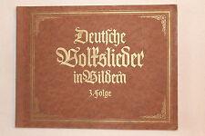 6818 KATHREINER München Bilder Album Deutsche Volkslieder in Bildern Folge3 1935
