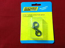 FENDER LOCK SPARE EYES REPLACEMENT EYES STAINLESS PAIR  MARINE SEACHOICE 30131