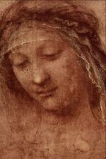 501026 étude de la femme s tête Leonardo da Vinci A4 papier photo