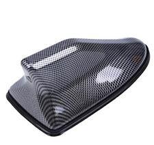 1x Brand New Carbon Fiber Car Roof Shark Fin Antenna AM/FM Signal Car Decoration