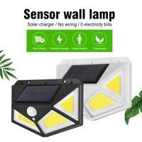 76 COB LED Solar Light Motion Sensor Security Wall Light Outdoor Garden Lamp.
