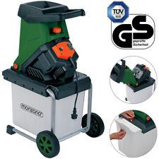 monzana® Häcksler Schredder Gartenhäcksler Messerhäcksler Elektro Holz 2500W