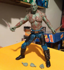 DRAX THE DESTROYER Lead METAL Figure 133 Marvel EAGLEMOSS Collection BOX No Mag.