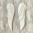Heavenly Angel Metal Wings - Religious Hanging Wall Decor - 2 Pieces