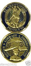 NEW St. Christopher Protect Us Sailor Challenge Coin. 3133