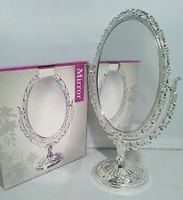 Unbranded Oval Freestanding Decorative Mirrors