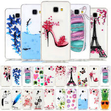YPYH Pattern Soft TPU Case Cover For Samsung Galaxy S5 S6 S7 Edge J1 J5 J7 A3 A5