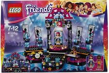 LEGO FRIENDS 41105  Pop Star Show Stage NEW Livi Andrea mini figures (#1252)