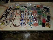 lot of jewelry beads necklace bracelet parts