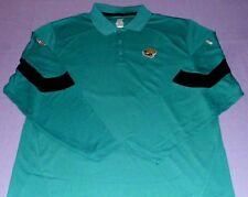 Jacksonville Jaguars Horizon Sideline Polo Shirt 2XL Long Sleeve Reebok NFL