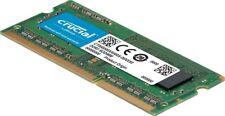Crucial 2GB Single DDR3/DDR3L 1600 MT/S (PC3-12800) Unbuffered SODIMM 204-Pin Me