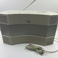 New listing Bose Acoustic Wave Music System - Model Cd-3000 - Works Great - White