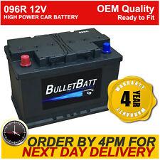 096R BulletBatt Heavy Duty Calcium High Power 12V 72Ah Car Van Battery 086