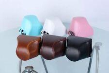 6 Colors PU Leather Camera Case Bag Cover Pouch For Nikon 1 J5, 1J5 10-30mm lens