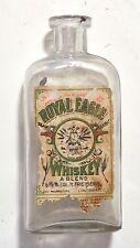 Vintage ROYAL EAGLE WHISKEY Bottle 1903-1913 Cincinnati Ohio Liquor Distillery