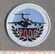 ROYAL AIR FORCE BUCCANEER 2000 FLYING HOURS PATCH