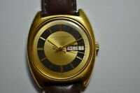 Girard Perregaux Gyromatic Automatic Vintage Men Watch Keeps Time 18K GEP Bezel