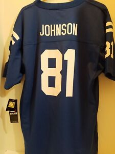 NFL TEAM APPAREL Andre Johnson #81 COLTS JERSEY YOUTH XL