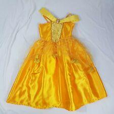Disney Princess Belle Beauty & The Beast Girls Fancy Dress Costume Outfit Age 6