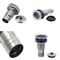 Kitchen Filter Screen Percolator Assembly Stainless Steel Drain Tube Strainer