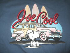 Vintage Peanuts Collection SNOOPY JOE COOL Surfing UFS (LG) T-Shirt
