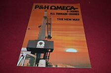 P&H Omega S Series Rough Terrain Cranes Dealers Brochure DCPA2 ver2