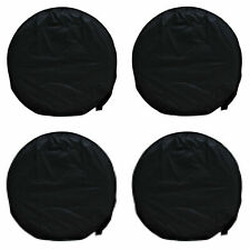 """4x Oxford 28"""" Wheel Tire Covers For Rv Trailer Camper Car Truck And Motor Home"""
