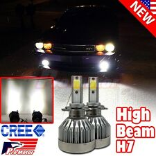 2 x H7 6500K 60W 6000Lm Led High Beam Cree Error Free Canbus Headlight Led Bulbs