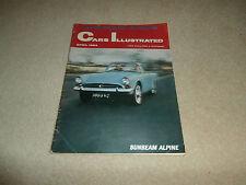 Cars Illustrated. 1964.Rover/Triumph 2000.Saab 96/95.Husky.Jaguar 3.8 S.Corsair
