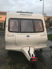 2003 BAILEY PAGEANT MAJESTIC CARAVAN 2 BERTH END KITCHEN MODEL WITH MOTOR MOVER