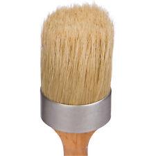 1st Place Paint & Wax Pure Bristle 2 Inch Brush - Professional Quality - Chalk