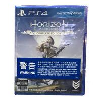 HORIZON ZERO DAWN COMPLETE EDITION PlayStation PS4 2017 Chinese English Korean