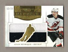 2012/13 Panini Dominion ADAM HENRIQUE Mammoth Jersey Patch 12/25 SP