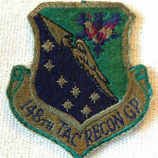 MILITARY- VINTAGE U.S.A.F. 148TH TAC RECON GP PATCH- NO GLOW