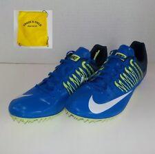 Nike Zoom CELAR V Sprinter Running Shoes 629226 413 MEN 11 +Spikes SRT & Bag