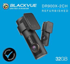 BlackVue Dash Cam DR900X-2CH 4K Front and Rear Wi-Fi GPS (32GB) - REFURB