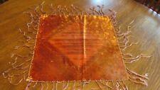 Antique Velvet Table Scarf No. 2