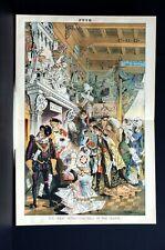 Advertising Ball 1883 VANDERBILT HURTER SALES COUPONS ANTIQUES FASHION BARGAINS