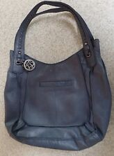 Lucky Brand Denim Blue Leather Purse - Excellent Used Condition Tags MSRP $228