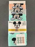 3 Paar Disney Mickey Mouse Damen Socken Micky Maus Strümpfe Bunt 37-42 Primark