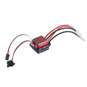 1060 60A Waterproof Brushed ESC Speed Controller Forward Brake and Reverse  W5U9